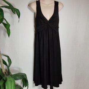 Little Black Sleeveless Dress Sz M